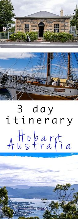 My three day itinerary for Hobart. There's plenty to keep you occupied here and you don't need a car to do it. Weekend in Hobart | Hobart, Tasmania | Tasmania, Australia | Food and Wine