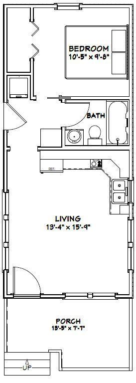 14' X 32' plans
