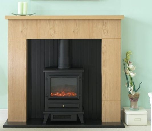 Wirral Fires Ltd trading as Fireplace Store Online - The Innsbruck Oak Electric Fireplace Suite, £398.00 (http://www.fireplacestoreonline.com/the-innsbruck-oak-electric-fireplace-suite/)