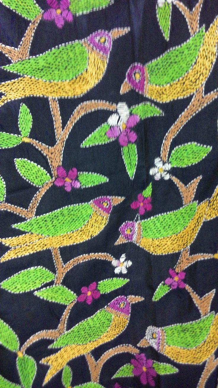 kantha stitch Texture -> Patterns -> Prints Pinterest