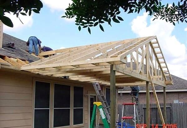 Fascinating Patio Cover Design Plans Framing N How To Build A