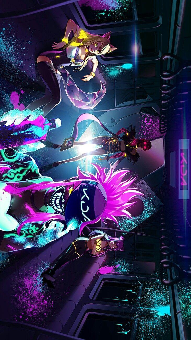 Kda League Of Legends Von Jeya In 2020 Lol League Of Legends