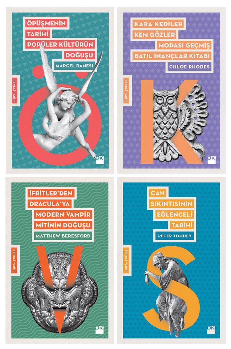 Colourful History Book Cover Series - 13,6 X 21