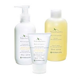 #Nourifusion - Normal To Oily #Kit this skincare system includes the convenience of a Lotion Cleanser, Toner and Moisturizer with SPF 15 for UVA/UVB sun protection.