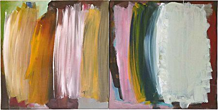 """Joël Renard : """"Cela ira mieux demain ! """", 2011. Acrylique sur toile. 2 x 40 x 40 cm.  David BIOULÈS - Joël RENARD  exposent du 22 mars au 28 avril 2012 à la galerie Vasistas, Montpellier."""