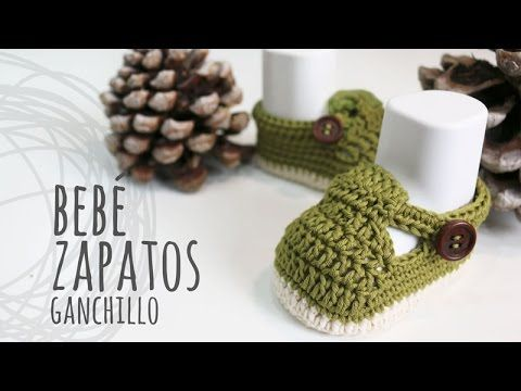 Tutorial Zapatos Bebé Ganchillo | Crochet