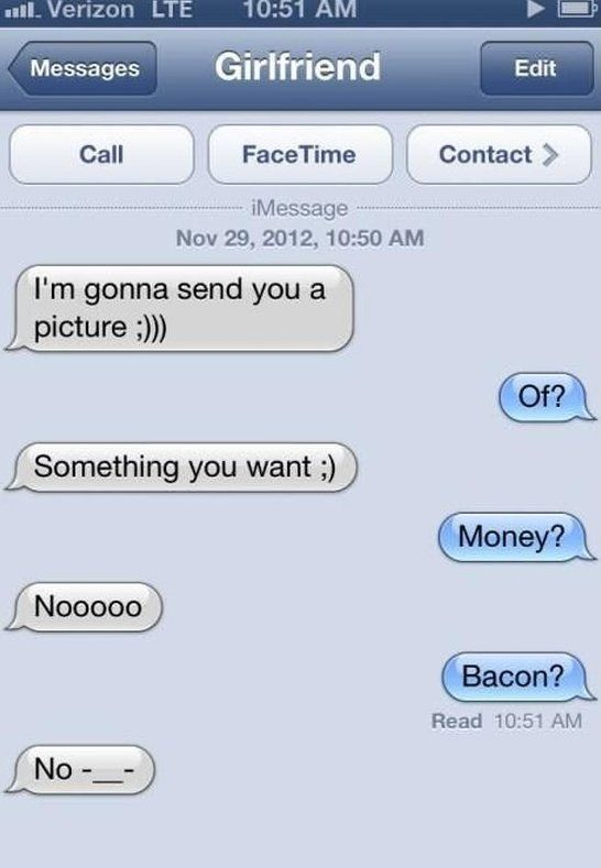 Jokes to send to your girlfriend
