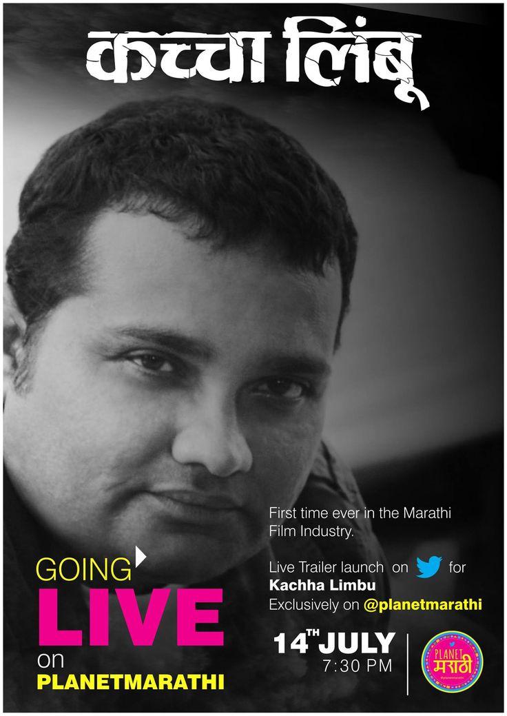 First Time Ever In Marathi Industry Live Kaccha Limbu trailer launch on Twitter PlanetMarathi#marathi #film #trailer #launch #event #live #twitter #celebrityAakash Anand Pendharkar Prasad Oak Ravi Jadhav Sonali Kulkarni Sachin Khedekar Manmeet Pem Chinmay. D. Mandlekar Amalendu Chaudhary Akshay Bardapurkar Rahul Pillai Gayatrri Dilip Chitre Ajay Parchure MarathiStars.com Colors Marathi zee marathi FunMarathi.Com Divya Marathi Vinod Satav Lead Media & Publicity Pvt. Ltd.