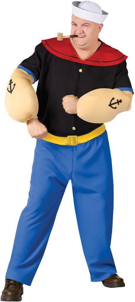 men's costume: popeye | 2xl