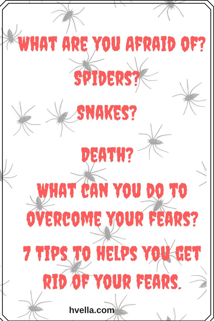 Tips to overcome your fears once and for all #stress #fear #anger