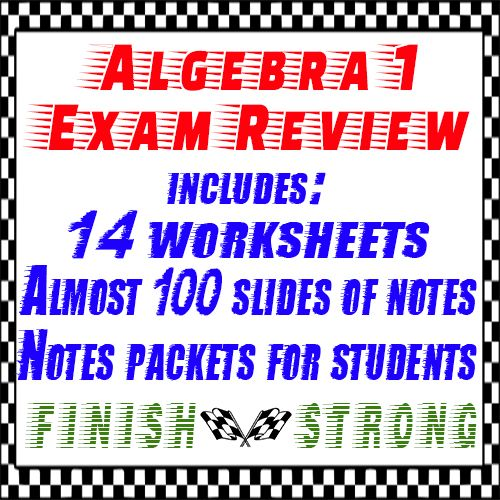 algebra 1 full year review 16 worksheets of final exam review a well student and the o 39 jays. Black Bedroom Furniture Sets. Home Design Ideas