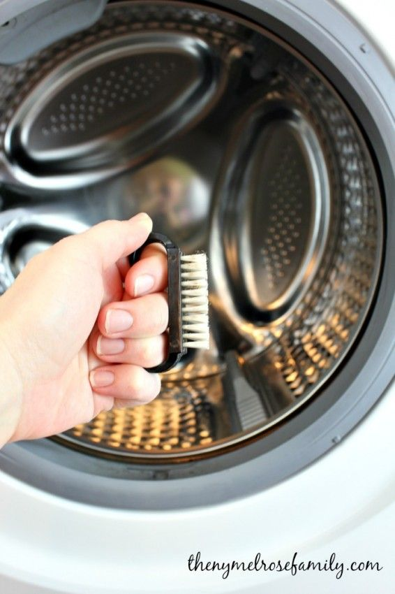 How to clean a front load washer with vinegar and tea tree oil