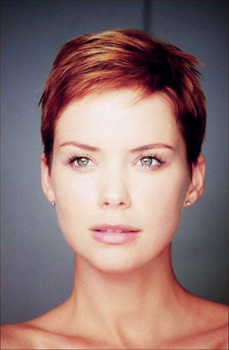 If i decide to do super short again perhaps this will be an option, especially with auburn color