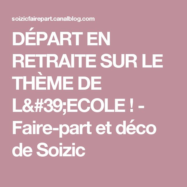 Sehr 20 best Carte invitation départ à la retraite images on Pinterest  KM81