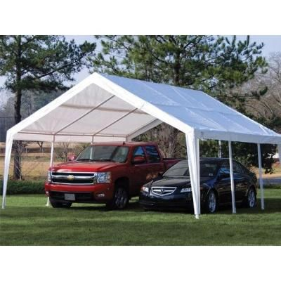 x Car Port Expendable Canopy Portable Steel Frame Gazebo Garage Cover  sc 1 st  Pinterest & 79 best Over Head images on Pinterest | Camping ideas Tents and ...