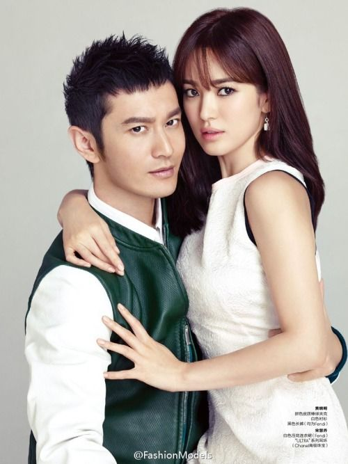 Lovely couple - Huang Xiao Ming & Song Hye Kyo