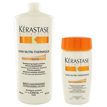 Kerastase One of the best top salon lines..works miracles! (price range - $$$$)