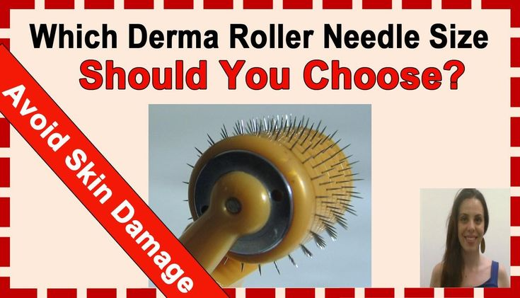 Which is the Best Derma Roller Needle Size & How Often to Use a Dermarol...