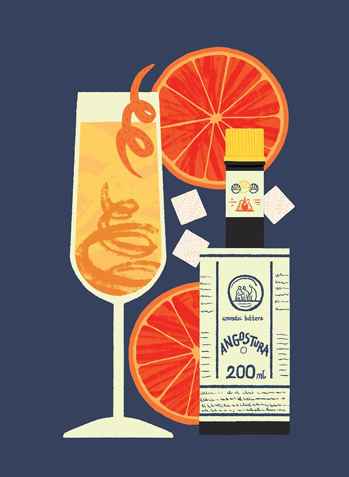 255 best food drink images on pinterest for Bright illustration agency