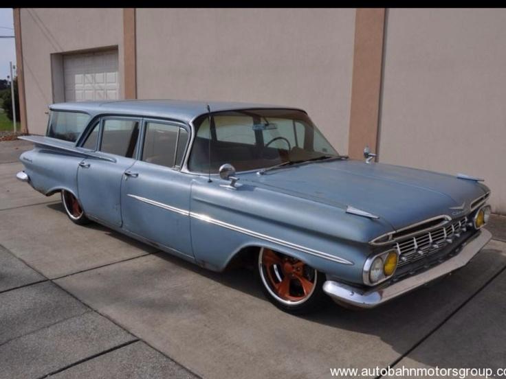 64 impala wagon parts