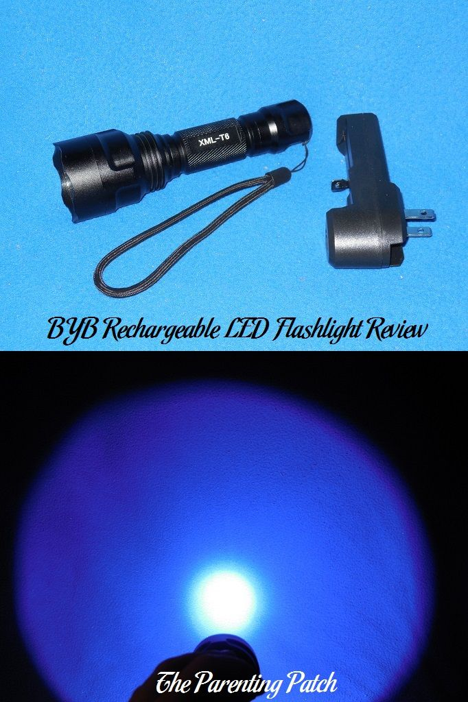 BYB Rechargeable LED Flashlight Review