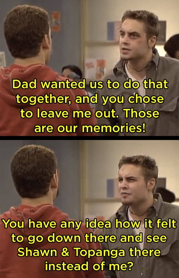 21 Times Boy Meets World Served Up Some Harsh Reality - Dose - Your Daily Dose of Amazing
