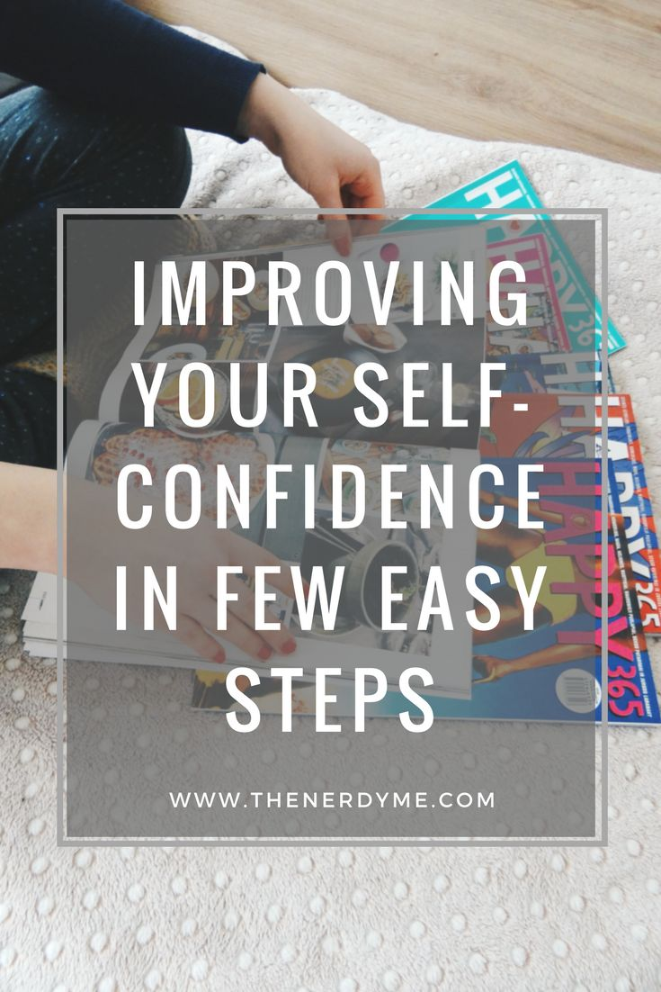 How To Fight The Lack of Confidence in The Quickest Way! www.thenerdyme.com