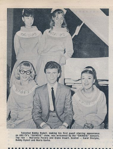 Shindig! Dancers with Bobby Rydell (tomovox) Tags: music 60s sixties shindig televison televisionshows musicshows danceshows flickrshindig