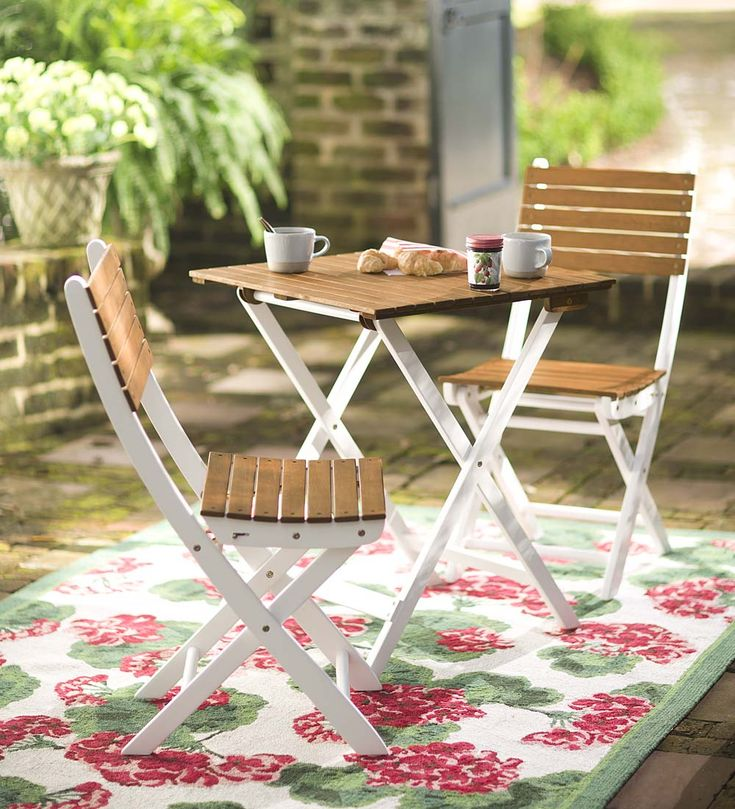 Eucalyptus Bistro Set | Outdoor Seating   We Love This Perfect Little  Bistro Set For Two