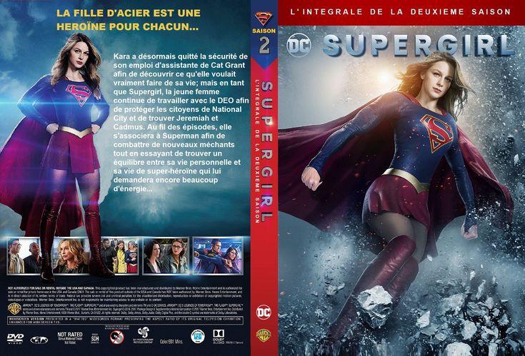 Jaquette DVD Supergirl saison 2 custom