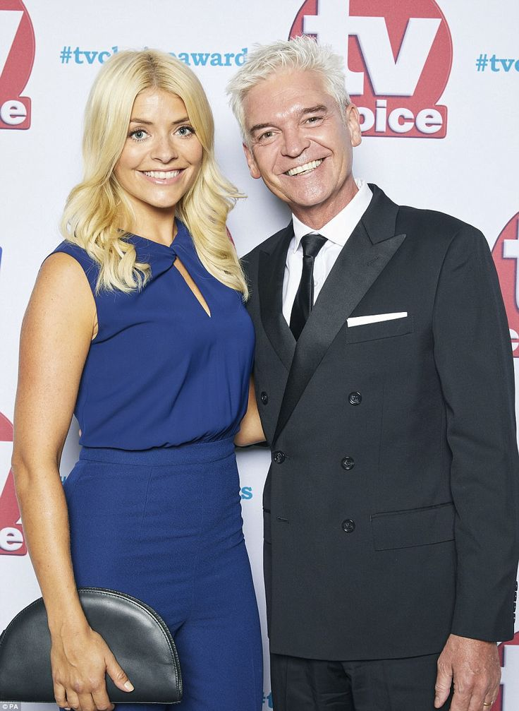 Back together! Holly Willoughby andPhillip Schofield attended the event together