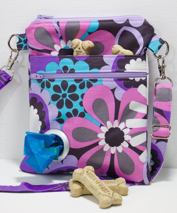 Shop Nicole Lee Cupcake Dog Print Cross Body Bag - Free ...  Dog Walking Bag Cross Body