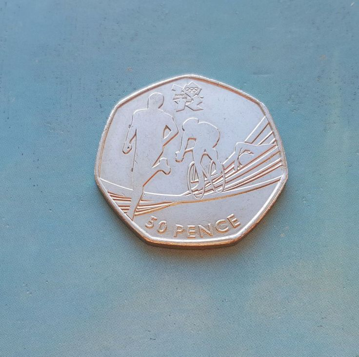 50p Fifty pence  Triathlon Olympic Coin VGC  £12.75 or Best Offer Ebay Uk Item Number 362156974154