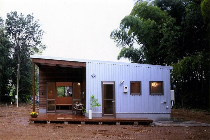大きく暮らす、小さな家(建築家:とりやま あきこ)- 建築作品写真:大きく暮らす、小さな家