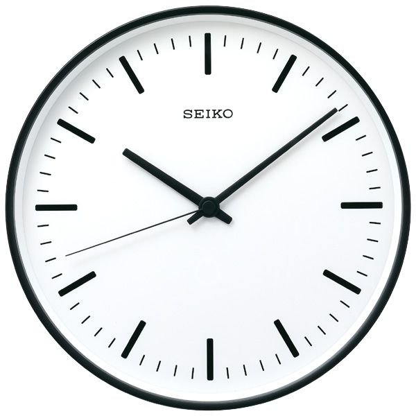 SEIKO standard analog clock (large)
