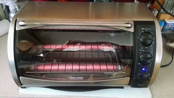 Black and Decker Countertop Toaster Oven CTO650 1500W 12