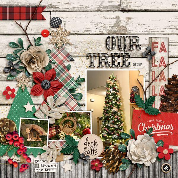 our tree - Digi Farmhouse Christmas
