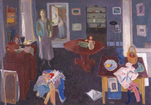 Interior, Temple Cottage, 1951 by William Gillies (1898-1973)