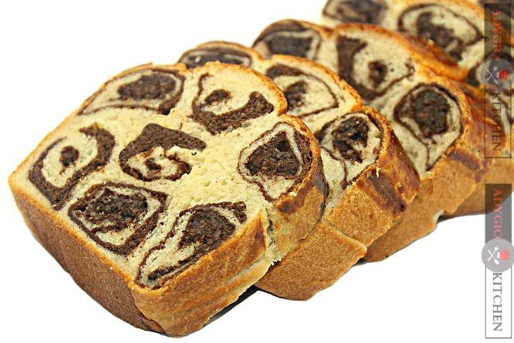 Cozonac cu cacao si nuca   Cozonac Leopard - Adygio Kitchen