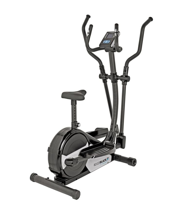 Buy Roger Black Gold Magnetic Cross Trainer and Exercise Bike at Argos.co.uk - Your Online Shop for Cross trainers and elliptical trainers.