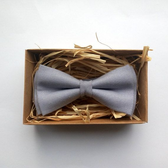 Lilac Gray bow tie / Purple / Grey Bow Tie / by ArtOfLithuania  Send package to brothers and friends etc asking to be groomsmen!