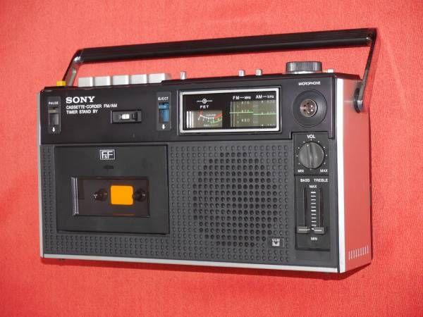 超レトロ Sony Am Fm ラジカセ Pro Cf 1900 良い中古品 画像1 ラジカセ レコードプレーヤー レトロ