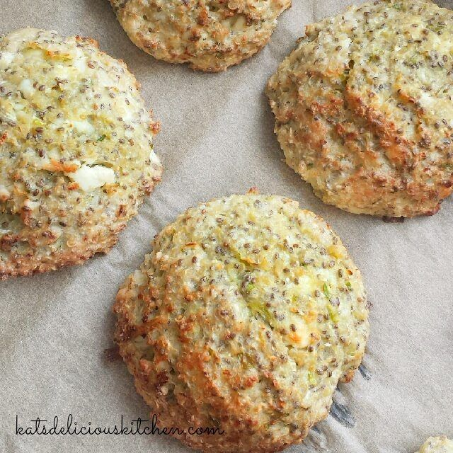 Baked Quinoa Chia Cauliflower Cheese Patties - BLW [8m+], Toddler & Family -. - For more ideas go to  #katsmealplans . - These patties are so so yummy and healthy, packed with superfood !  Everytime I made these for my kids I always ended up eating more . Such a yummy snack though.  Both toddlers loved them.  #kidsapproved  Simply toast them the next day and they would come out nice and crunchy on the outside again. . Perfect for #lunchbox #bentobox - Served approximately 16 patties...