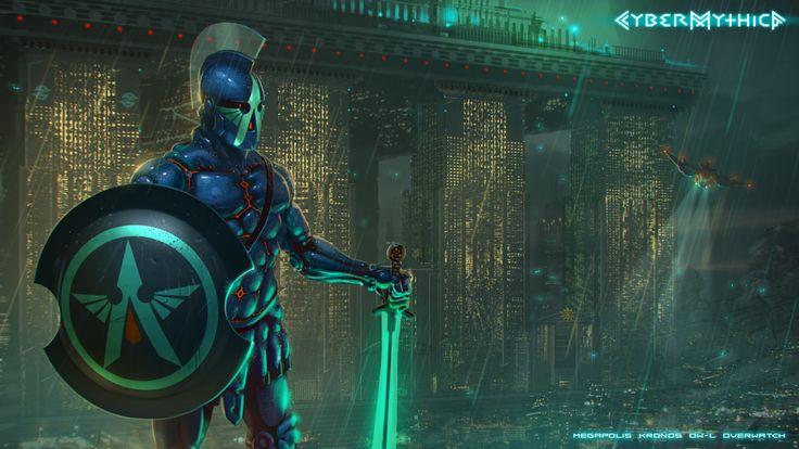 Overwatch_Megapolis Kronos cybermythica.com #cybermythica #cyberpunk #mythology