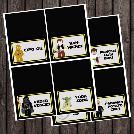 Star Wars Food Label Printables - Bing images