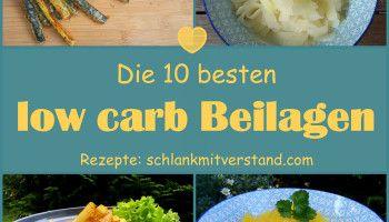 Die 10 besten low carb Beilagen aus Gemüse