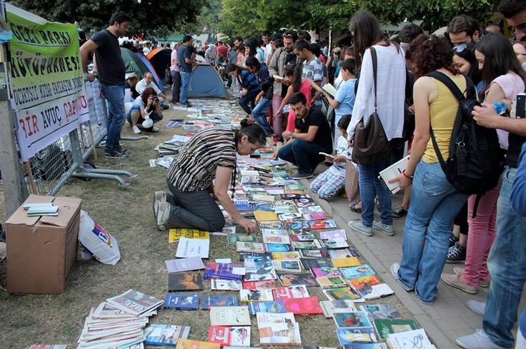 a public library at gezi parkı taksim istanbul