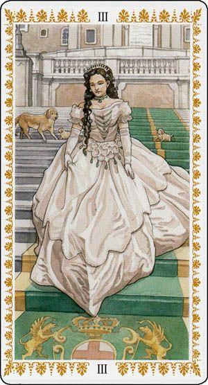 Romantic Tarot Empress