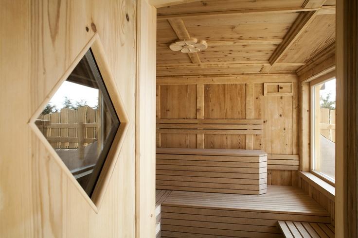 Sauna con vista #Dolomiti #valdinon #trentino