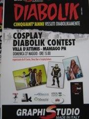 Cosplay Diabolik Contest, a Palazzo d'Attimis il 27 maggio 2012